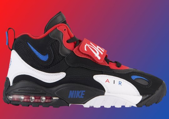 """Nike Speed Turf Max """"Sixers"""" To Drop This Sunday"""
