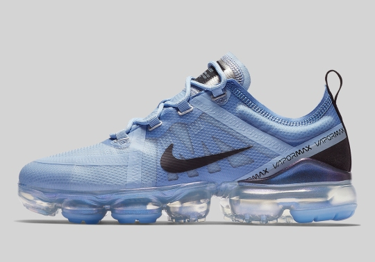Nike Vapormax 2019 Hits Stores In A Clean Aluminum Blue