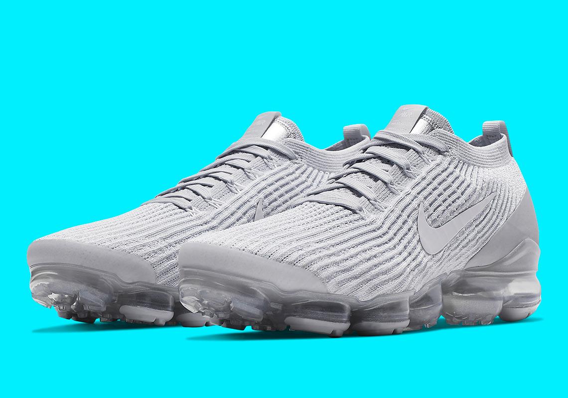 afc25011d5 Nike Vapormax 3 Pure Platinum AJ6900-102 | SneakerNews.com