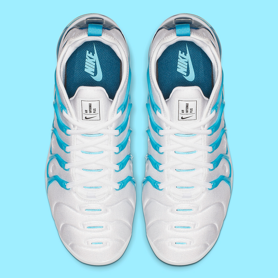 """official photos 70fc6 f84e0 Nike Vapormax Plus Adds A """"Blue Force"""" Exterior Cage - Welcome"""