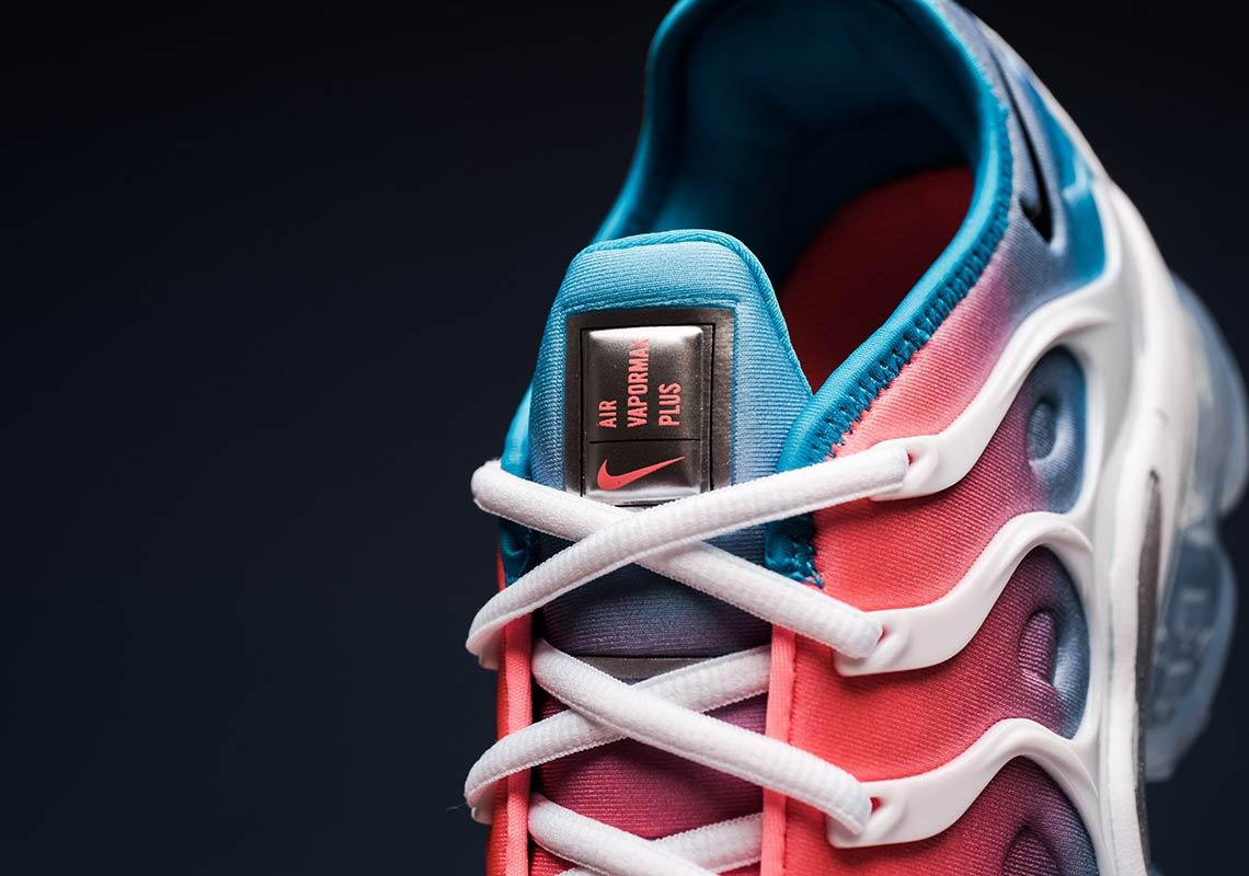 d2640146fb73 Nike Vapormax Plus Women s Red Blue White CI5862-600