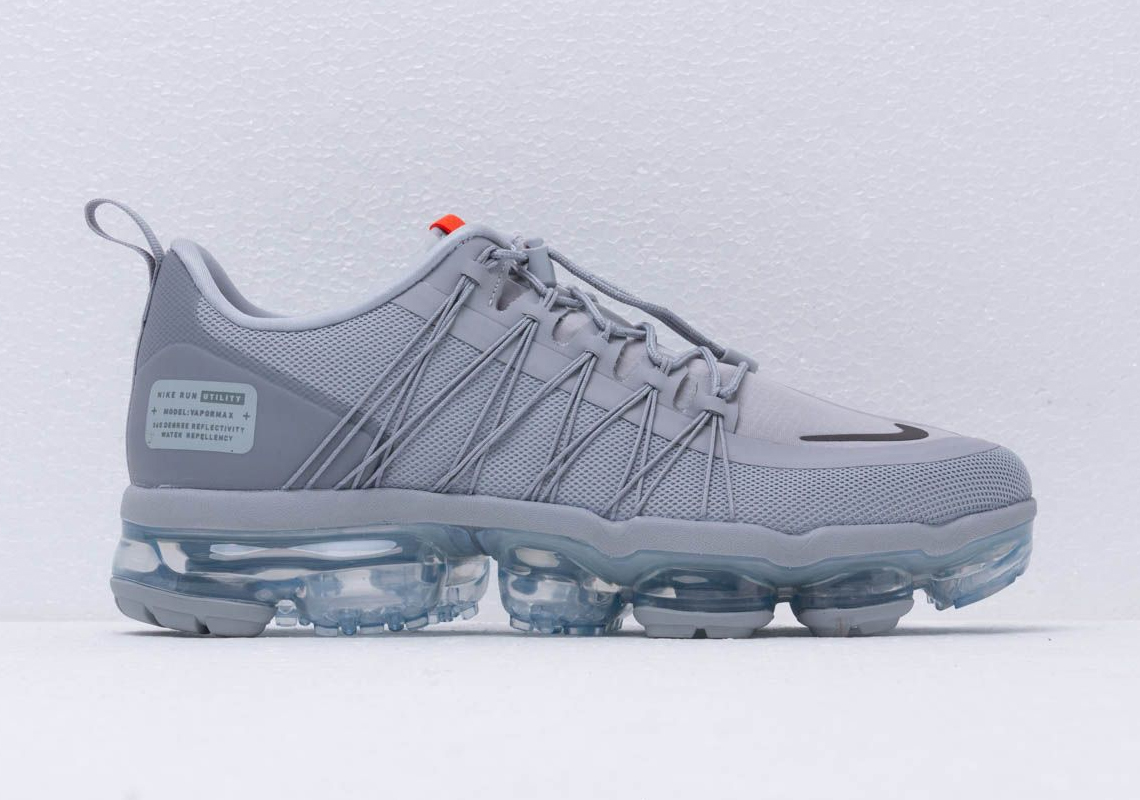 excellent quality new products sports shoes Nike Vapormax Run Utility Wolf Grey Release Info ...