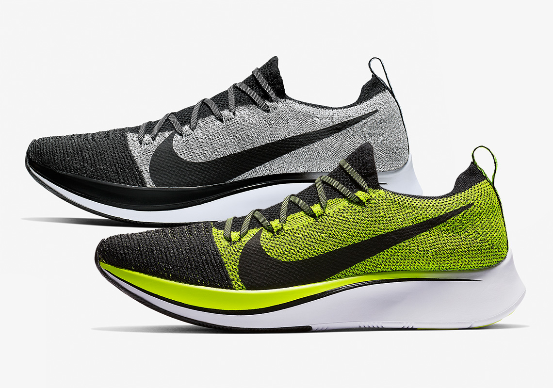 best service 457a7 773da Familiar Flyknit Colorways Appear On Nike Running s Zoom Fly