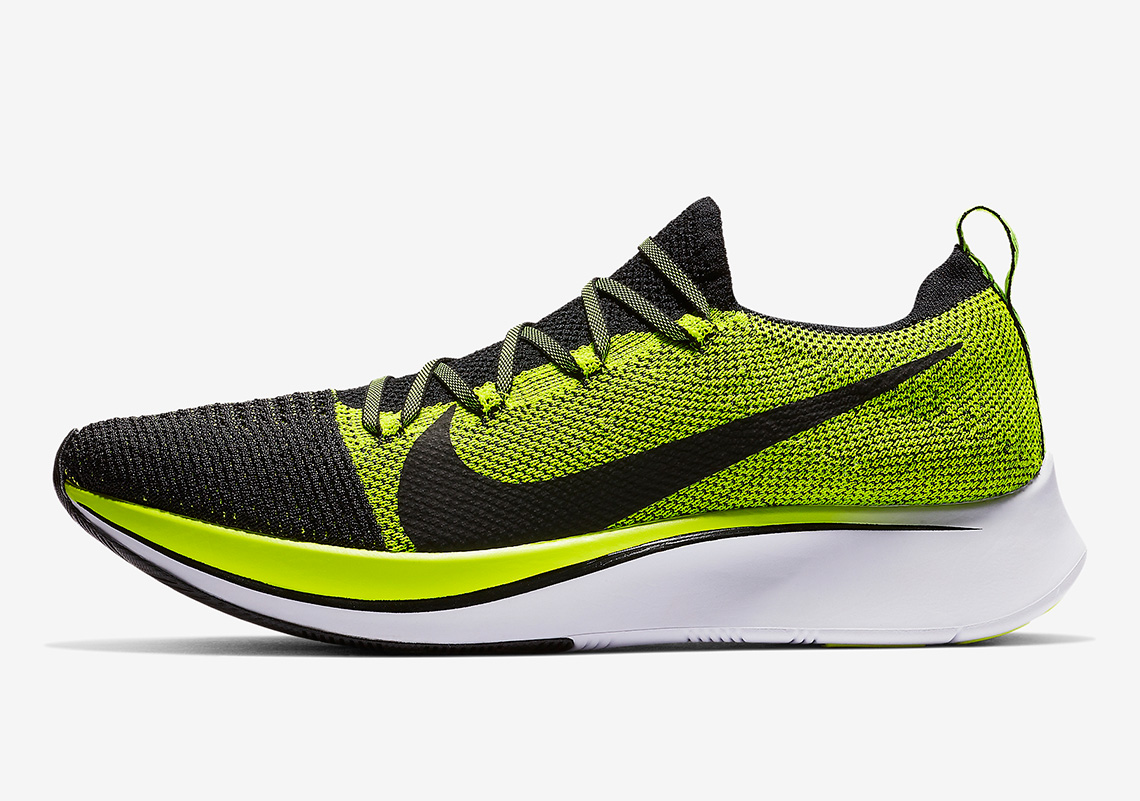 acd8f9aa613 Nike Zoom Fly Flyknit  160. Color  White Black-White Style Code  BV6103-001