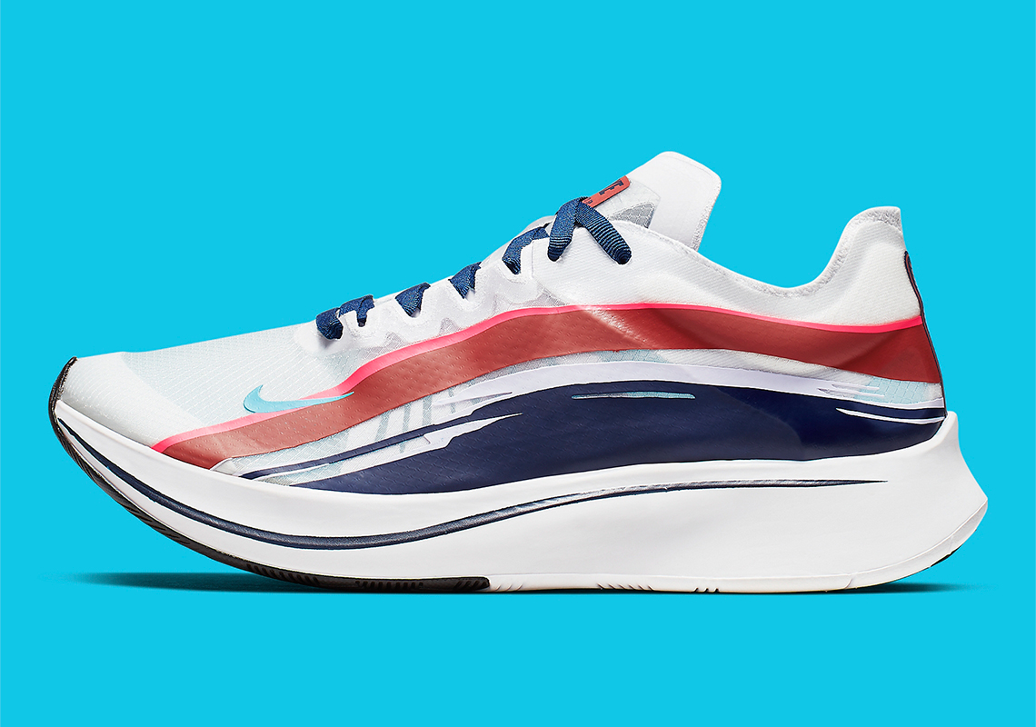 6ef2ad511d1f The Nike Zoom FLY SP Adds Graphic Streaks Above The Translucent Upper