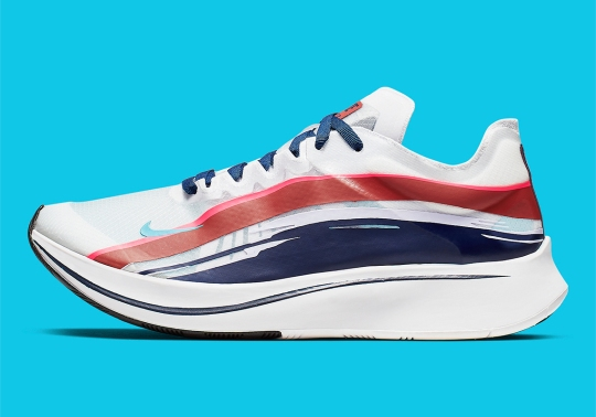 The Nike Zoom FLY SP Adds Graphic Streaks Above The Translucent Upper