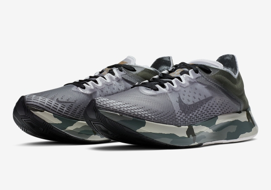 Full Camo Print Soles Appear On The Nike Zoom Fly SP