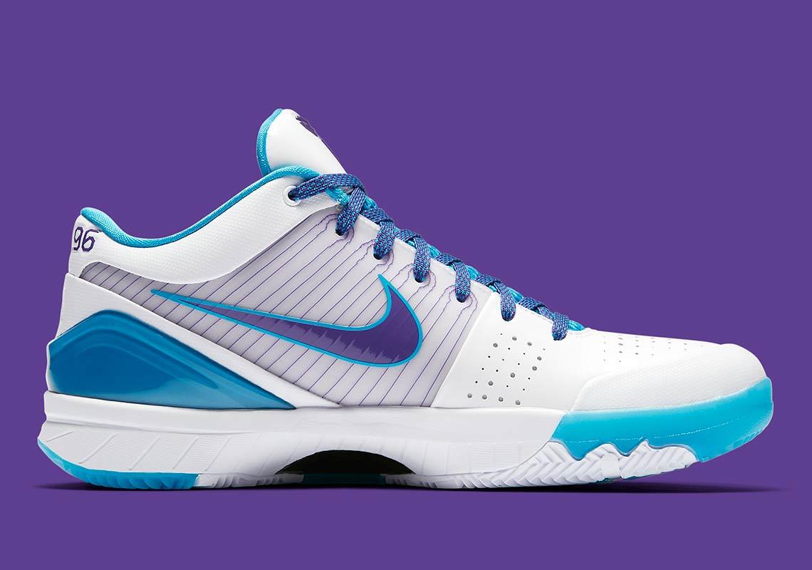 super popular 2d64f cf09a Nike Zoom Kobe 4 Protro Draft Day Hornets Release Date  Snea