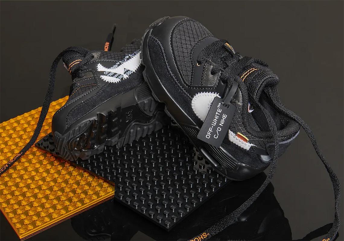 Nike Air Max 90 Off White Black (TD) BV0852 001 Wethenew