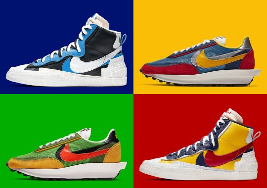 promo code 31074 f86bb sacai s Reworked Nike Blazer And LDV Waffle Are Coming This Spring
