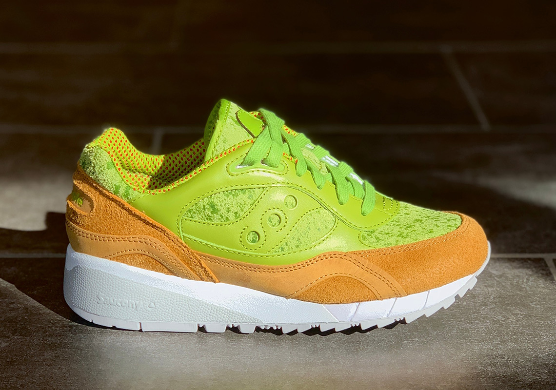 "Saucony Goes Full Millennial With ""Avocado Toast"" Shadow 6000"