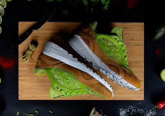 """Saucony's Obsession With Food Continues With These """"Avocado Toast"""" Shadow 6000s"""