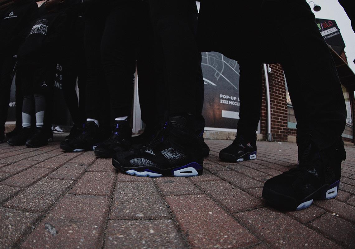 24a1727358bef4 How To Buy  Social Status x Air Jordan 6