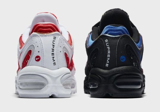 f55c61b48f8 Official Images Of The Supreme x Nike Air Max Tailwind IV