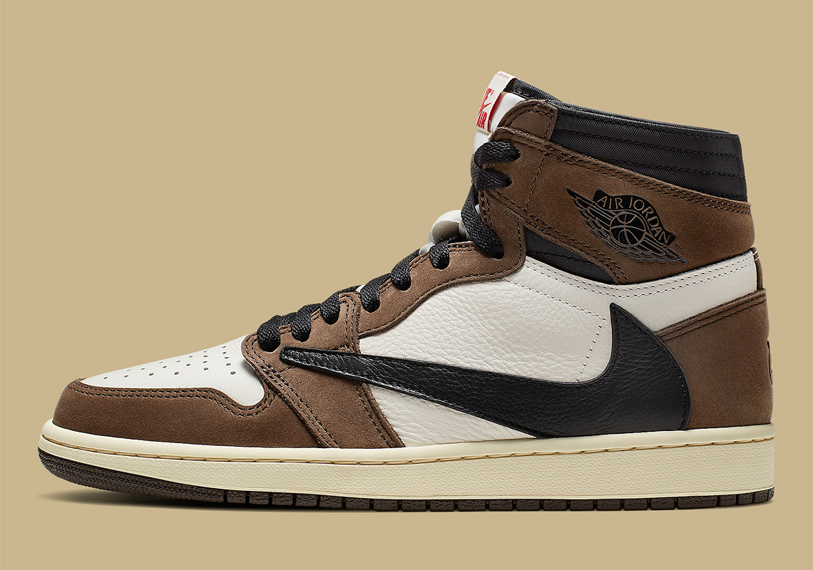 save off 797f9 13dbf Travis Scott Jordan 1 Official Release Info And Photos ...