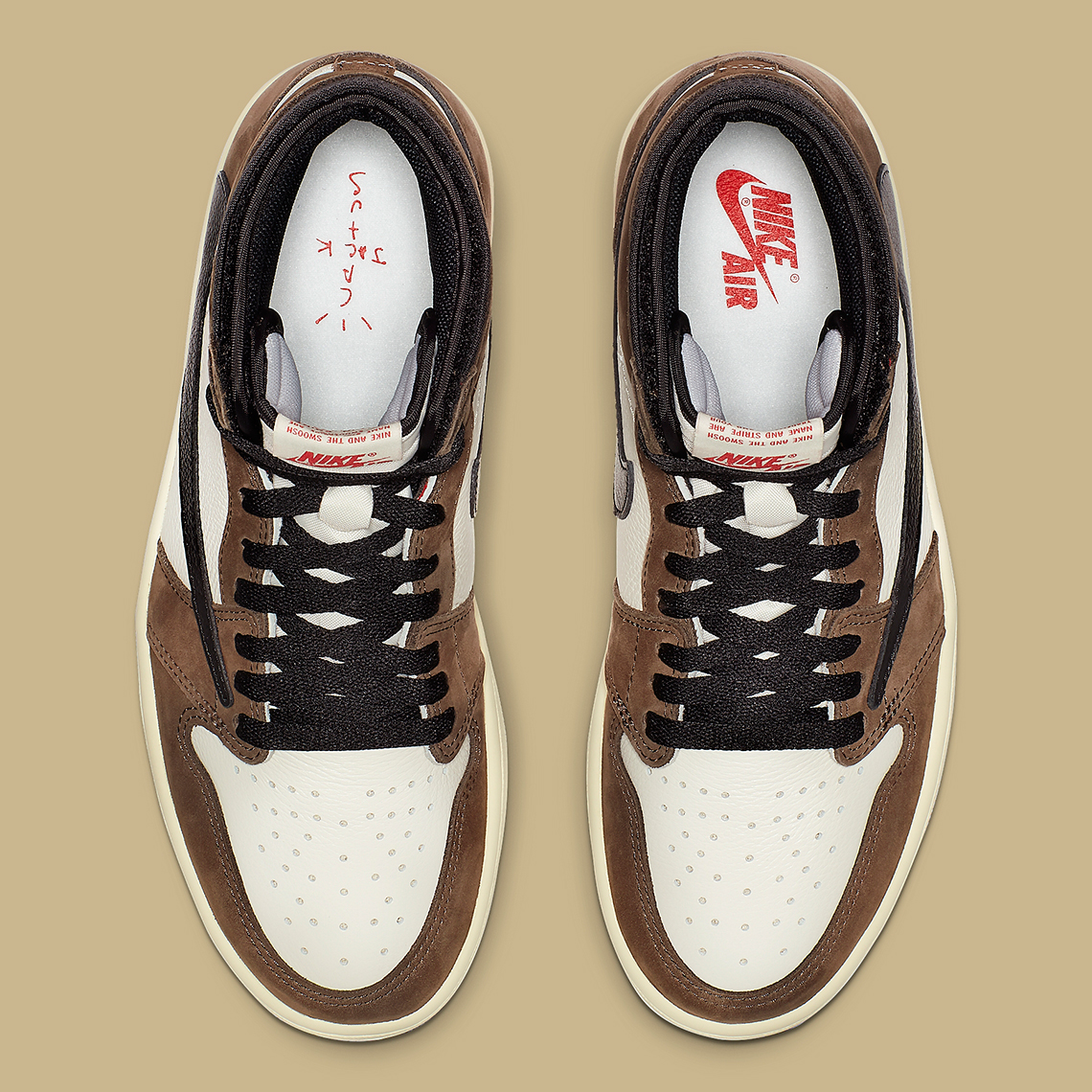 super popular 2ca6a 0434e Travis Scott Jordan 1 Official Release Info And Photos   SneakerNews.com