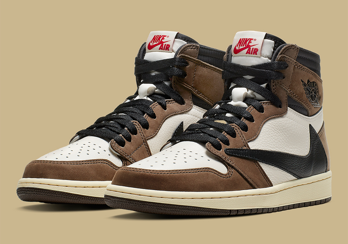 save off b035c 7f35a Travis Scott Jordan 1 Official Release Info And Photos ...