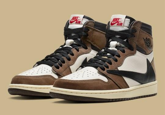 Official Images Of The Travis Scott x Air Jordan 1 Retro High OG
