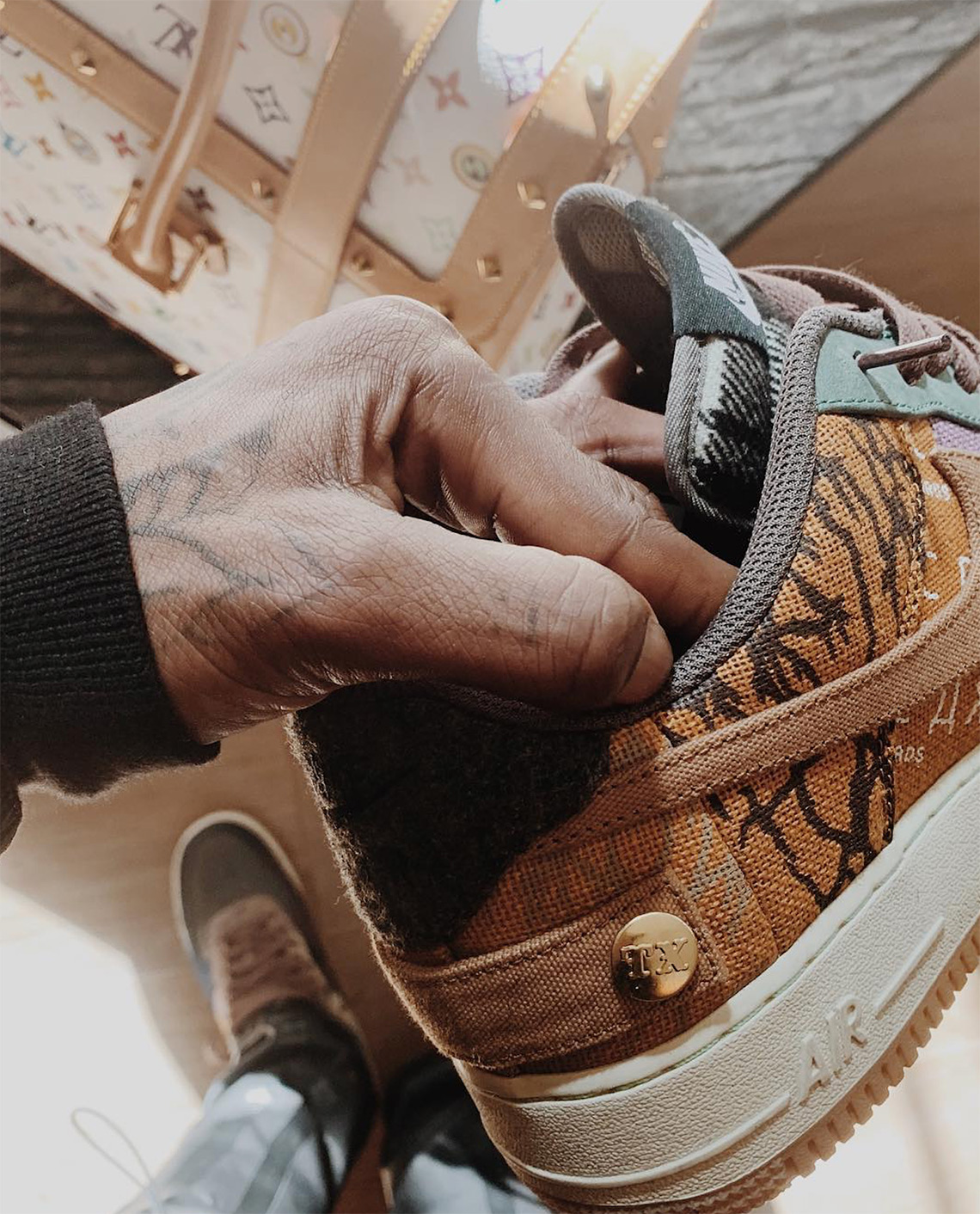 promo code 08c66 5f719 Enjoy another look at these upcoming Travis Scott collaborations here and  stay tuned for any release information and better images as they become  available.