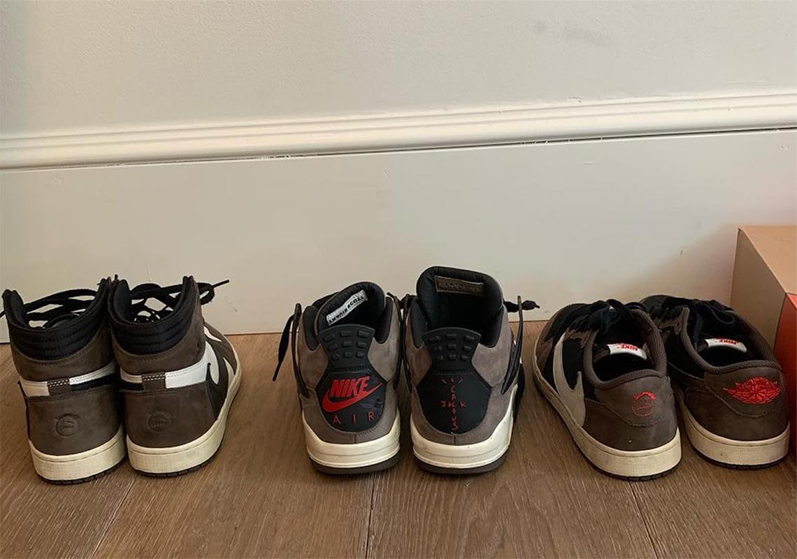top design sale recognized brands Travis Scott Air Jordan 1 Nike Air Force 1 Low Photos ...
