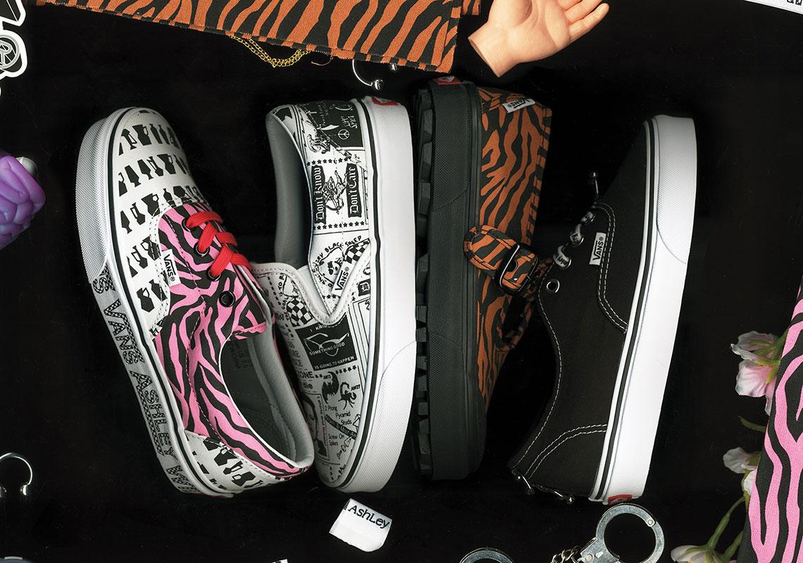 49c58a5df Ashley Williams Vans Authentic Era Slip On Style 93 Release Info ...