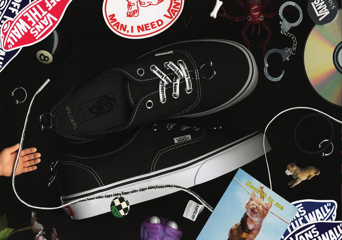 fa101be9bbf5 Ashley Williams Vans Authentic Era Slip On Style 93 Release Info ...