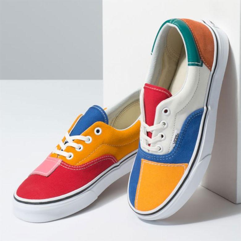 Vans Patchwork Era Multi True White Release Info | SneakerNews.com