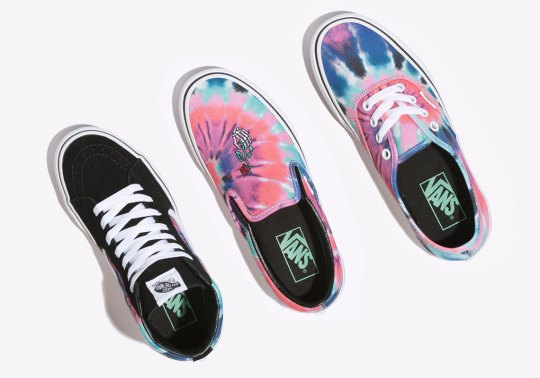 """Vans Nods To Grateful Dead With This New """"Tie Dye"""" Pack"""