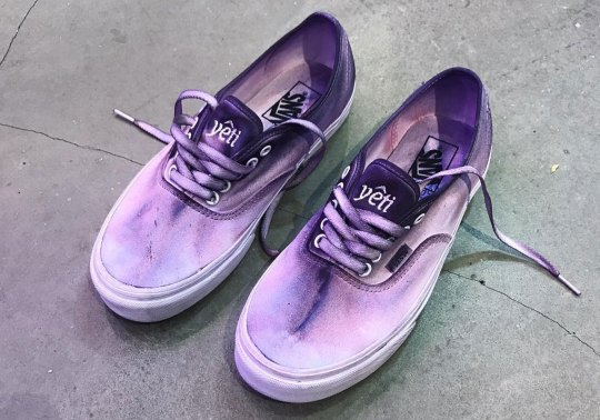 Music Collective Yeti Out Reveals A Purple-Dyed Vans Authentic Collaboration