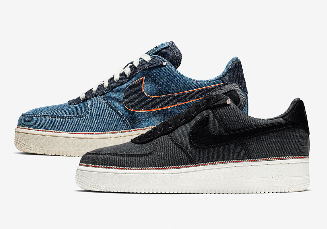 cheaper 2ba00 71e99 Nike Teams Up with 3×1 Denim For Selvedge-Inspired Air Force 1s