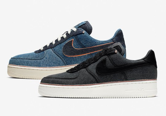 Nike Teams Up with 3×1 Denim For Selvedge-Inspired Air Force 1s
