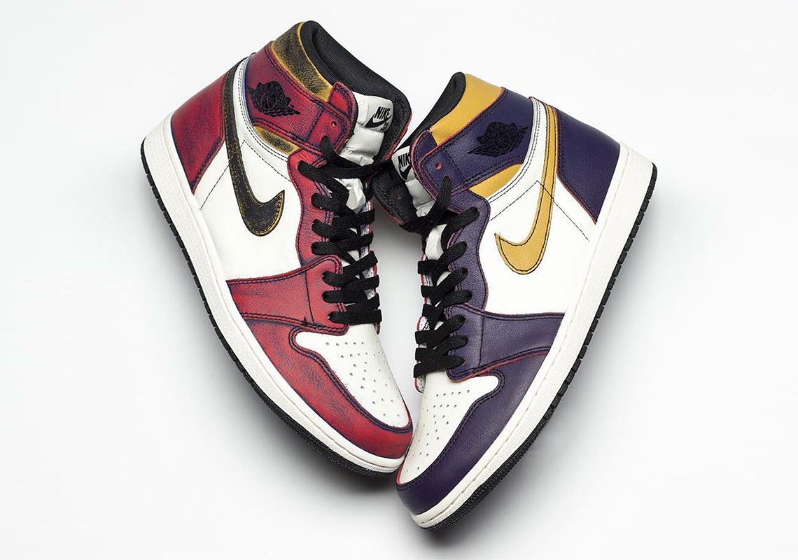 "394b7c75ed Revealing The Air Jordan 1 OG x Nike SB ""Bulls vs. Lakers"""