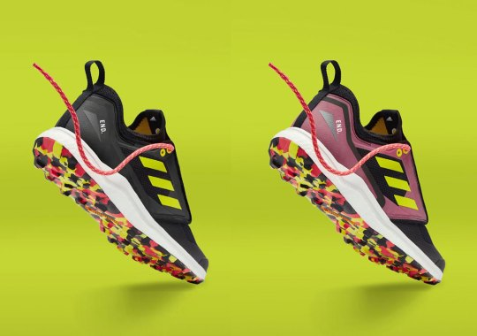 END Embarks With adidas For A Thermochromic Terrex Agravic XT