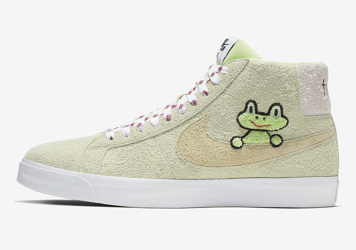 6d12a33be16 Frog Skateboards Nike SB Blazer AH6158-300 Store List