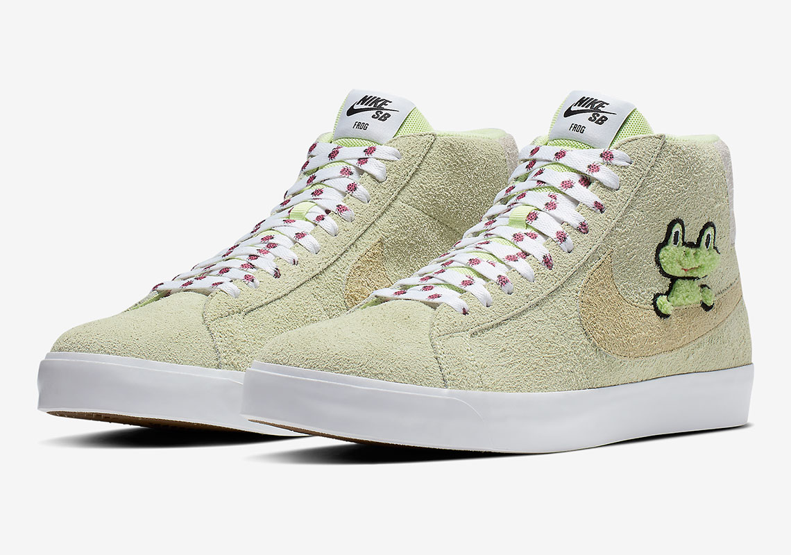 finest selection cheap price presenting Frog Skateboards Nike SB Blazer AH6158-300 Store List ...