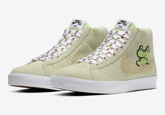 Where To Buy The Frog Skateboards x Nike SB Blazer