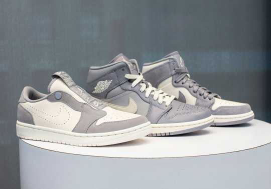 "The Air Jordan 1 Family Gets The ""Cool Grey"" Look For Women This Summer"