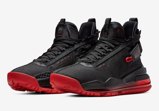 best service 76cb5 76c4f The Jordan Proto Max 720 Gets Hit In A Classic Black And Red