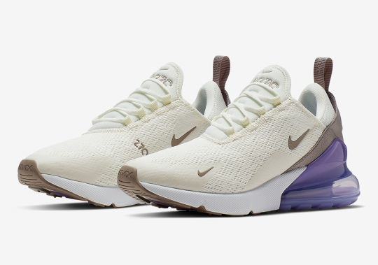"""The Women's Nike Air Max 270 """"Lilac"""" Is Coming Soon"""