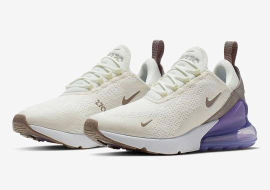 "fecb742f46b47 The Women s Nike Air Max 270 ""Lilac"" Is Coming Soon"
