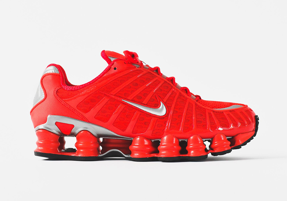 1a6924b6239a Nike Shox TL Speed Red BV1127 600 Release Info
