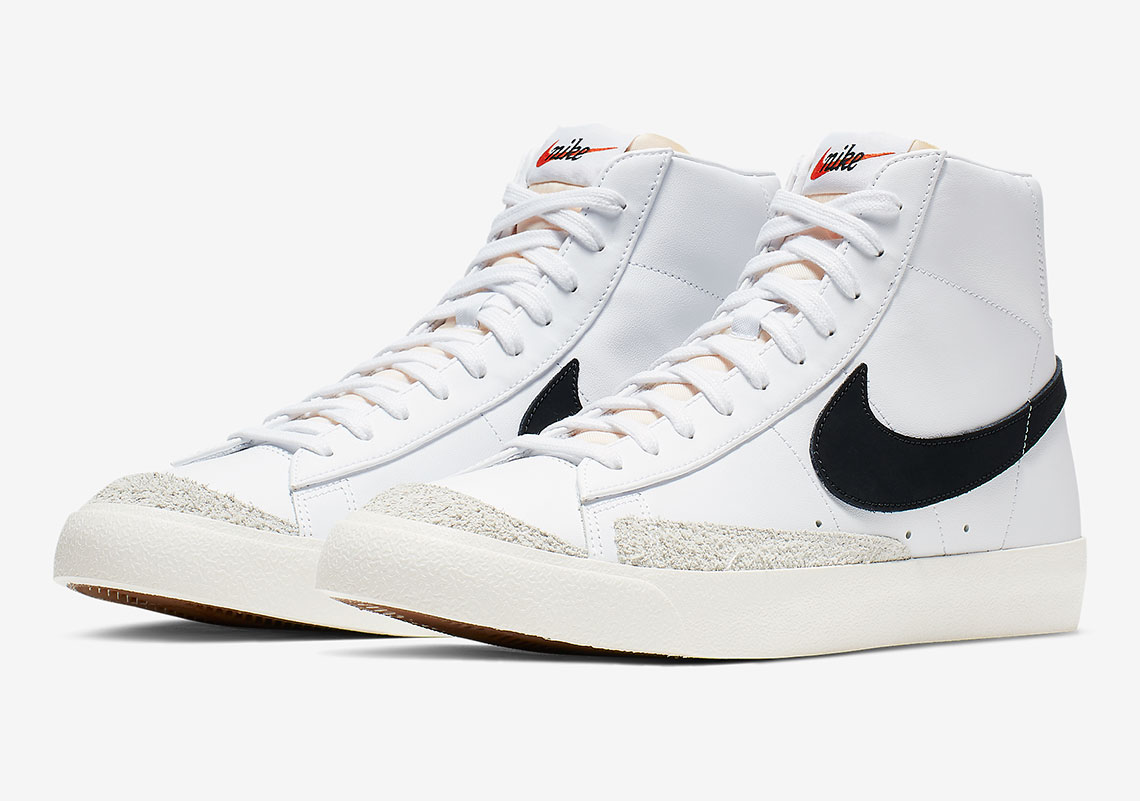 The Nike Blazer Mid Vintage '77 Is Coming With Black Swooshes