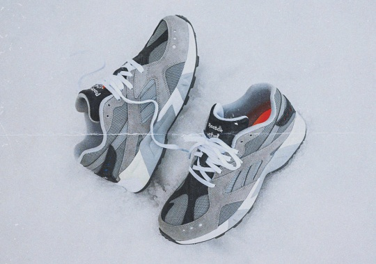 Packer Applies Grey Shades To Accentuate The Reebok Aztrek's Timeless Silhouette