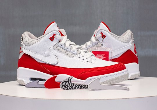 "93591ae4eda The Air Jordan 3 ""Tinker"" Is Inspired By The Original Air Max 1"