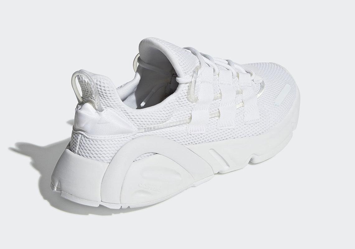 tormenta Soplar la seguridad  adidas LXCON Triple White DB3393 Release Info   SneakerNew.com