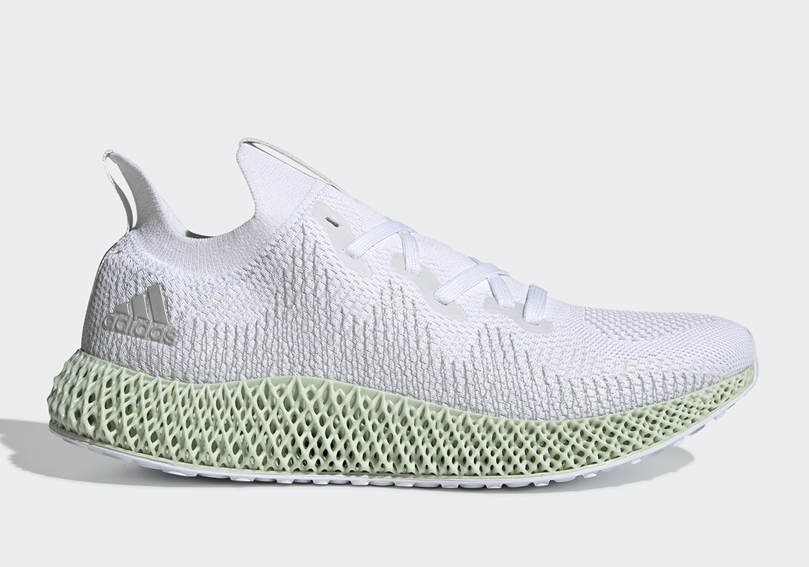 los angeles 191a1 61eaf The adidas Alphaedge 4D In White Is Restocking Soon