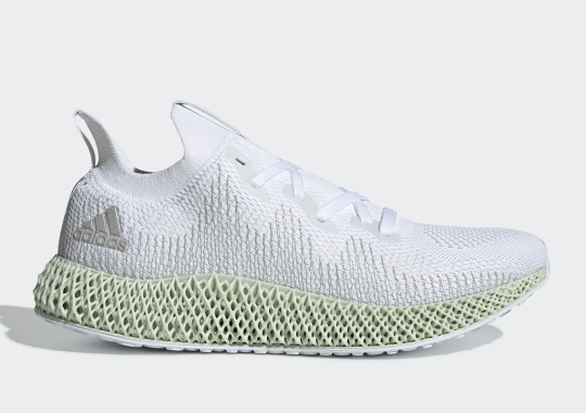 The adidas Alphaedge 4D In White Is Restocking Soon
