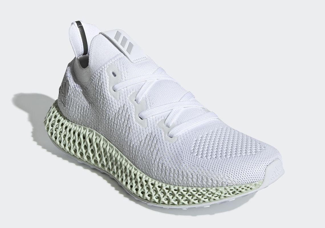 9f2a0a2bd17 adidas Alphaedge 4D White CG5526 2019 Release Date