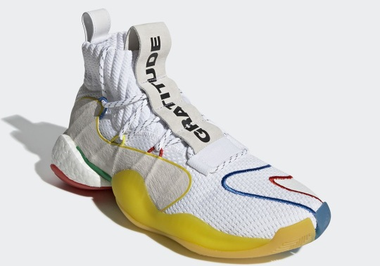 Pharrell And adidas Ready An Alternate White Crazy BYW LVL X