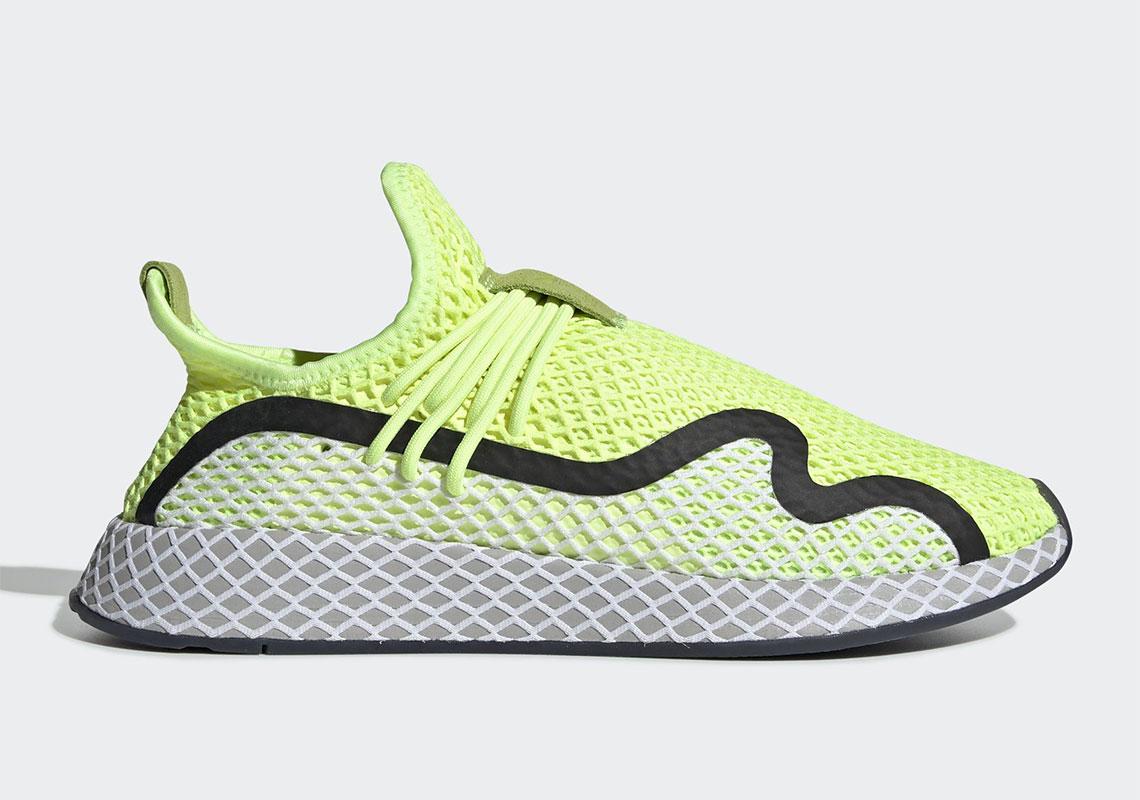 e58f204f4 adidas Deerupt S Volt BD7881 Release Info